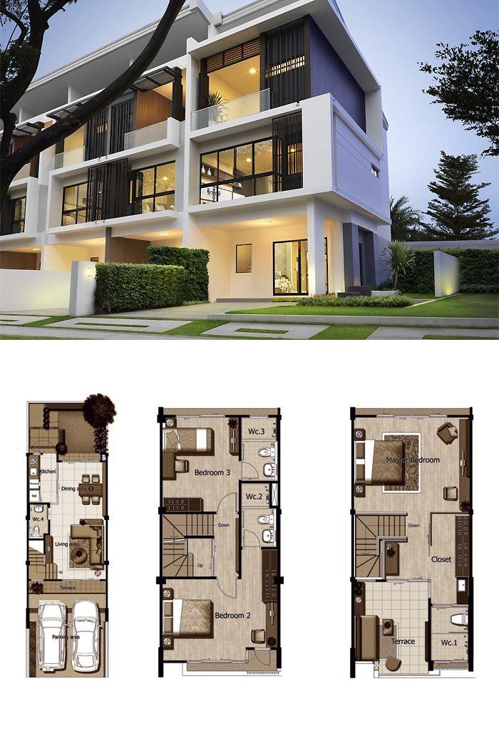 Land And Houses Arsitektur Rumah Indah Desain Rumah Modern