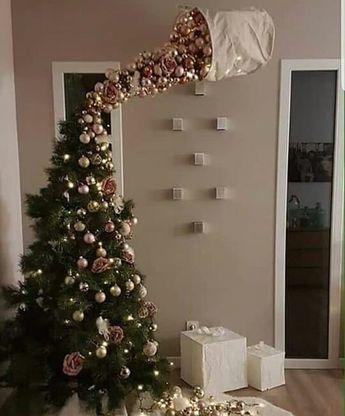 17 Adornos navideños para la entrada de tu casa y pasillos