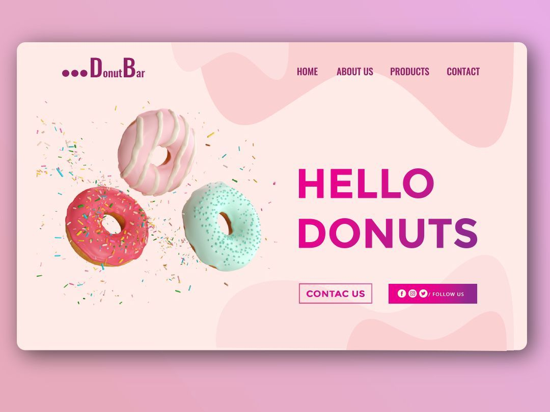 Inspiration by Absolute Web DesignDonut Inspiration by Absolute Web Design
