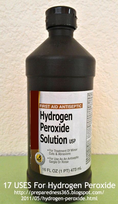 Hydrogen peroxide 3 17 uses oral hygiene - Hydrogen peroxide bathroom cleaner ...