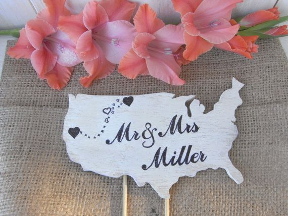 Check out this item in my Etsy shop https://www.etsy.com/es/listing/201029143/wedding-cake-topper-in-the-shape-of-your