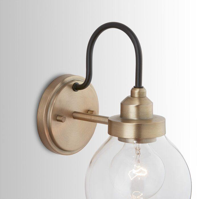 Llewellyn 1 Light Armed Sconce Wall Lights Wall Sconce Lighting Sconces