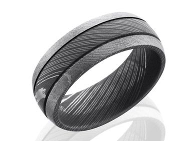 Unique Wedding Rings For Men And Women Damascus Steel Ring Damascus Steel Wedding Band Steel Wedding Bands