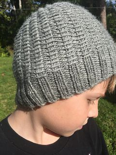 This is one of my favorite hats to knit. It knits up quickly and the pattern is easy to memorize.