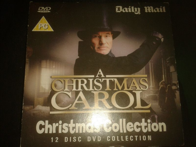 a christmas carol dvd promo the daily mail patrick stewart richard e grant listing in the otherchildrensdvdmovies dvd category on ebid united kingdom - A Christmas Carol With Patrick Stewart