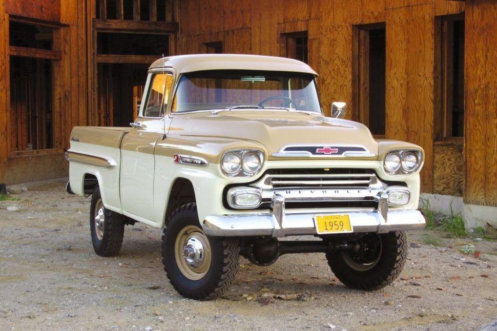 1955 59 Chevrolet Task Force Trucks Chevy Trucks Chevrolet Apache Cool Trucks