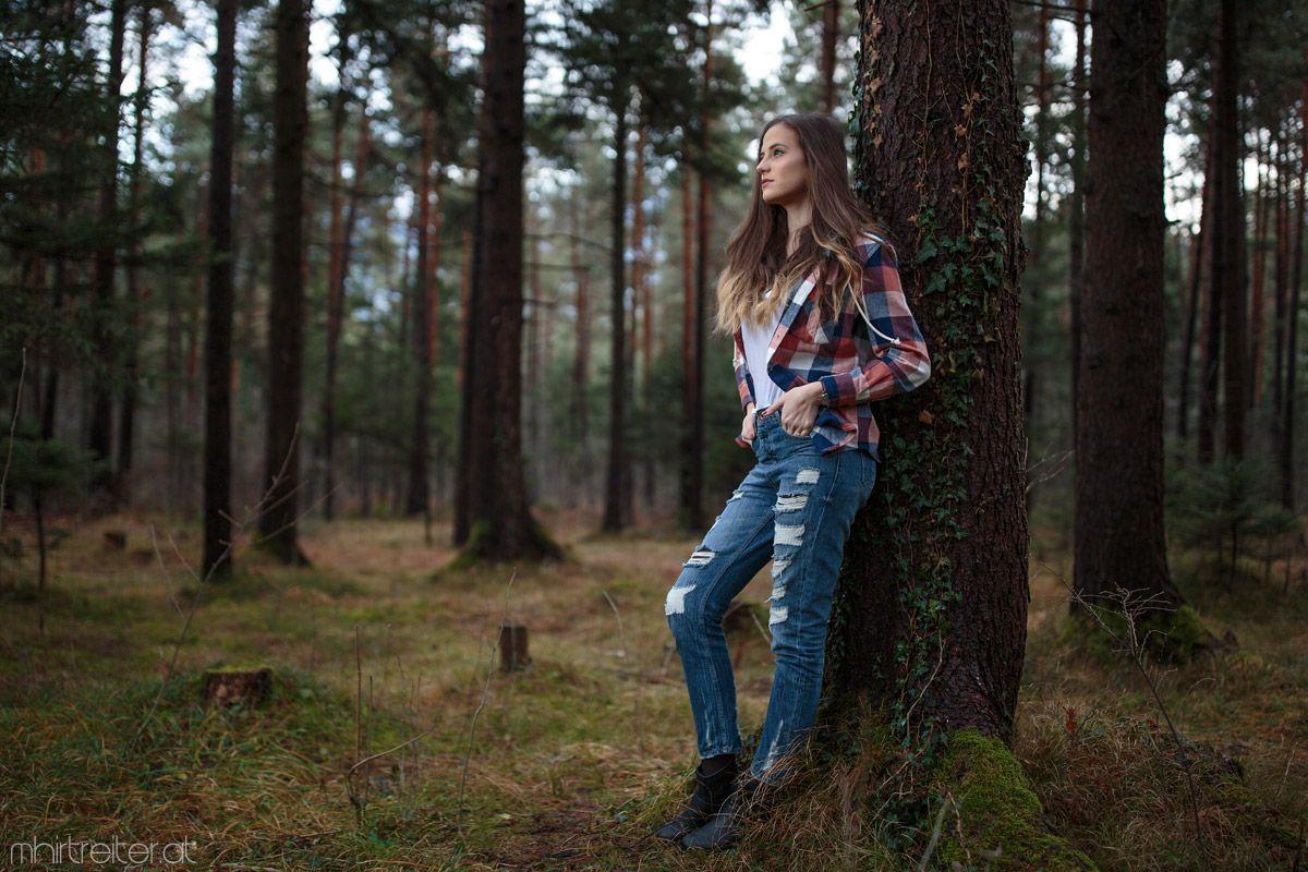 какое время дня лучше фотографироваться в лесу девушки очень много
