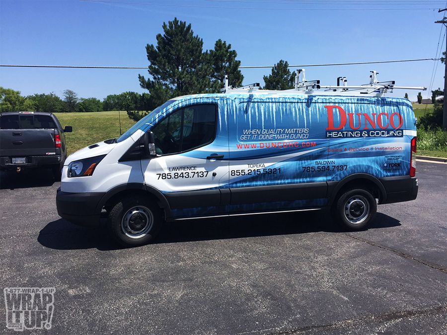 Dunco Van Wrap Van Wrap Custom Wraps Car Wrap