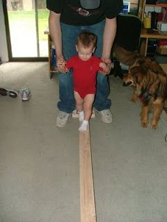 Want to make our own balance beam.