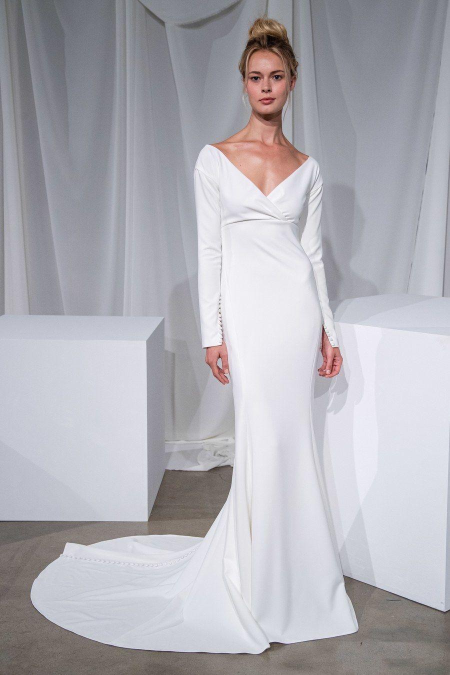 Amsale Bridal Fall 2020 Fashion Show in 2020 Amsale