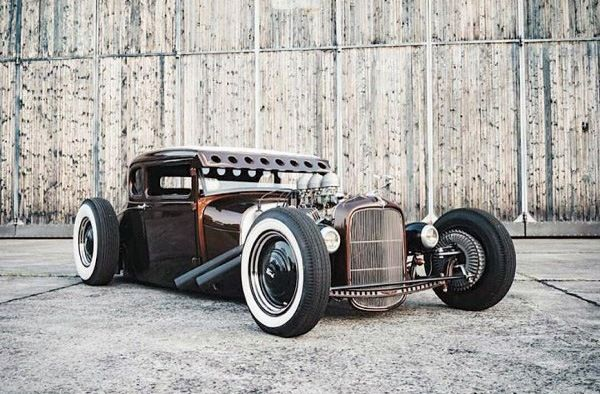 Top 70 Best Badass Rat Rod Ideas - Coolest Custom Cars
