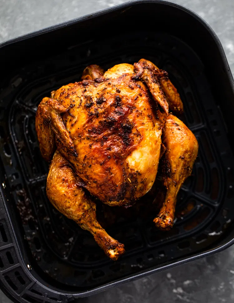 Air Fryer Whole Roast Chicken Gimme Delicious in 2020