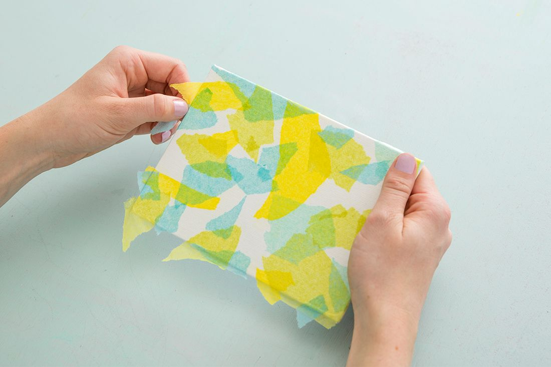 This Is the Easiest *and* Cheapest Way to Make Wall Art | Tissue ...