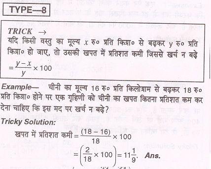 Percentage Short Tricks In Hindi, प्रतिशत शार्ट