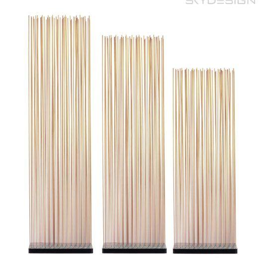 Bambus Sichtschutz Raumteiler Fiberglas Sticks #bambussichtschutz