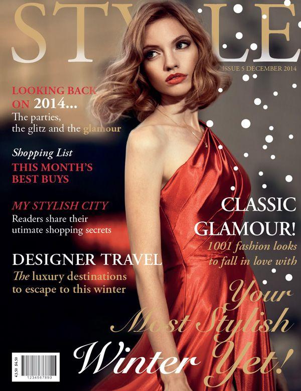 Design A Fashion Magazine Cover In Adobe Indesign Fashion Magazine Cover Magazine Cover Design Indesign Tutorials