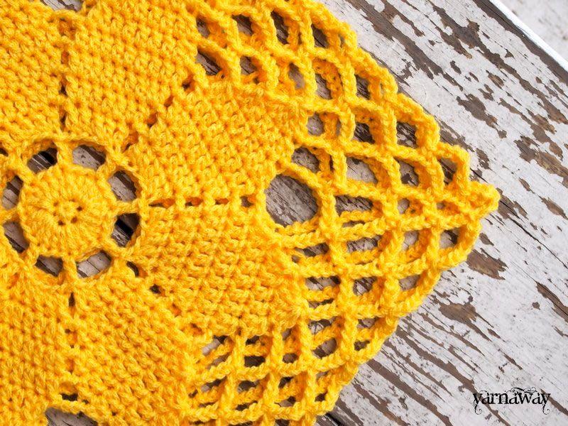 here comes the sun | yarnaway: a crochet scrapbook