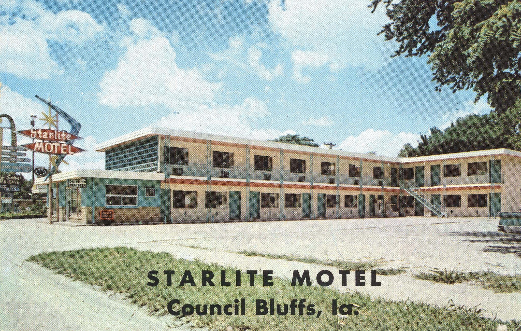 Starlite Motel Council Bluffs, Iowa Council bluffs
