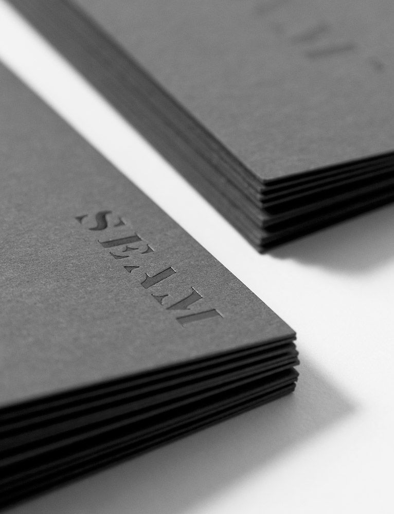 For Brands – Identity for Seam, luxury clothing brand distributor