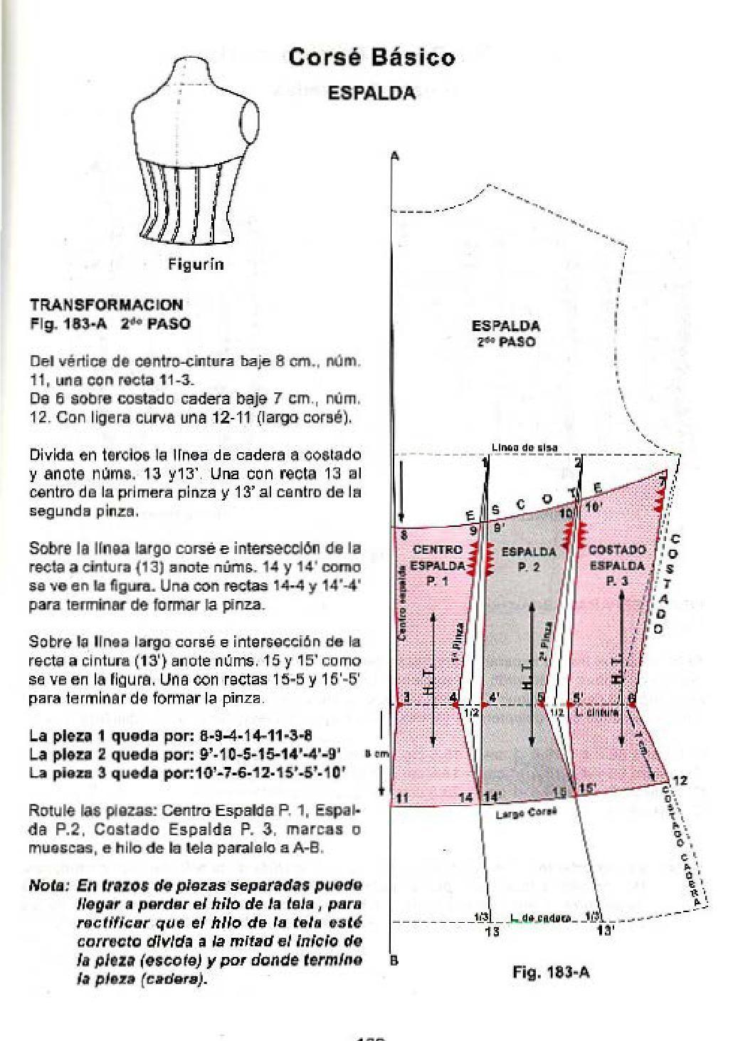 Corte de alta costura cyc | lencería | Pinterest | Costura, Patrones ...
