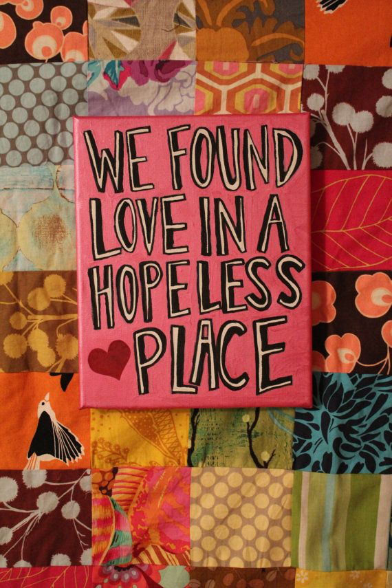 Lyric love rihanna lyrics : We Found Love -Rihanna (available on etsy) | Lyrics | Pinterest ...
