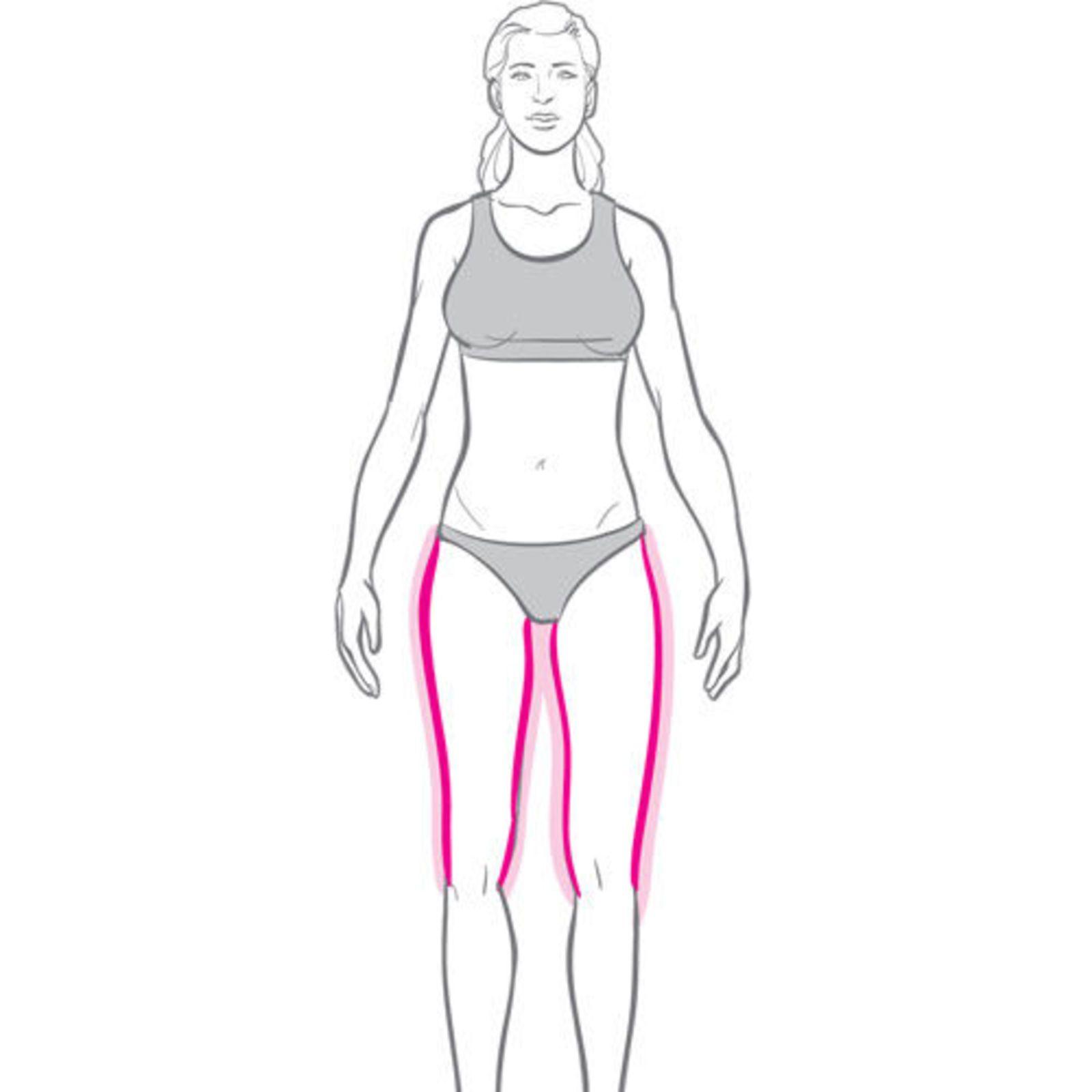 Упражнения для фигуры груша чтоб похудеть