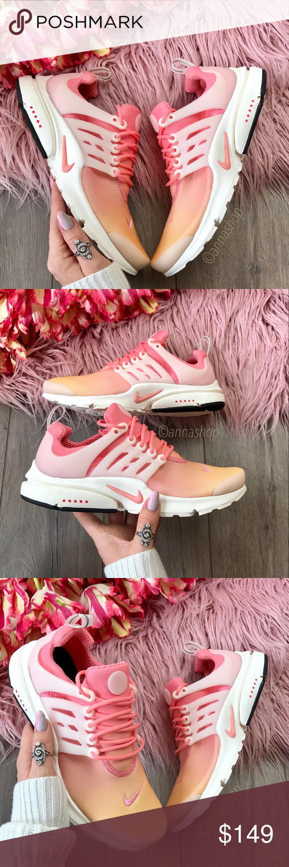 NWT Nike ID Air Presto Ombré Brand new no box! Price is firm!!!Custom made Nike  ID Air Presto Ombré. Crisp, clean and ready for the streets, ...