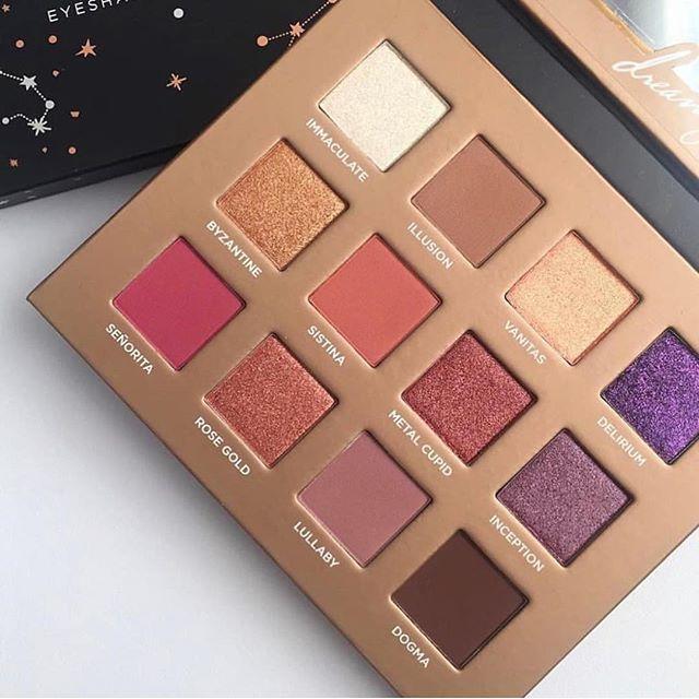 Nabla cosmetics eyeshadow palette