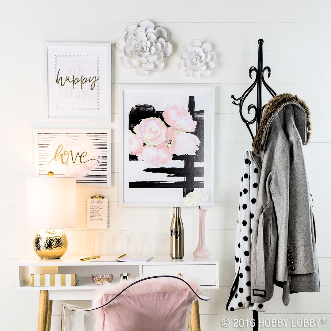 Create A Stylish, Sophisticated Space With This Darling