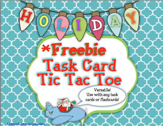 Freebie  Game Boards Are The Perfect Companion For Task Cards And