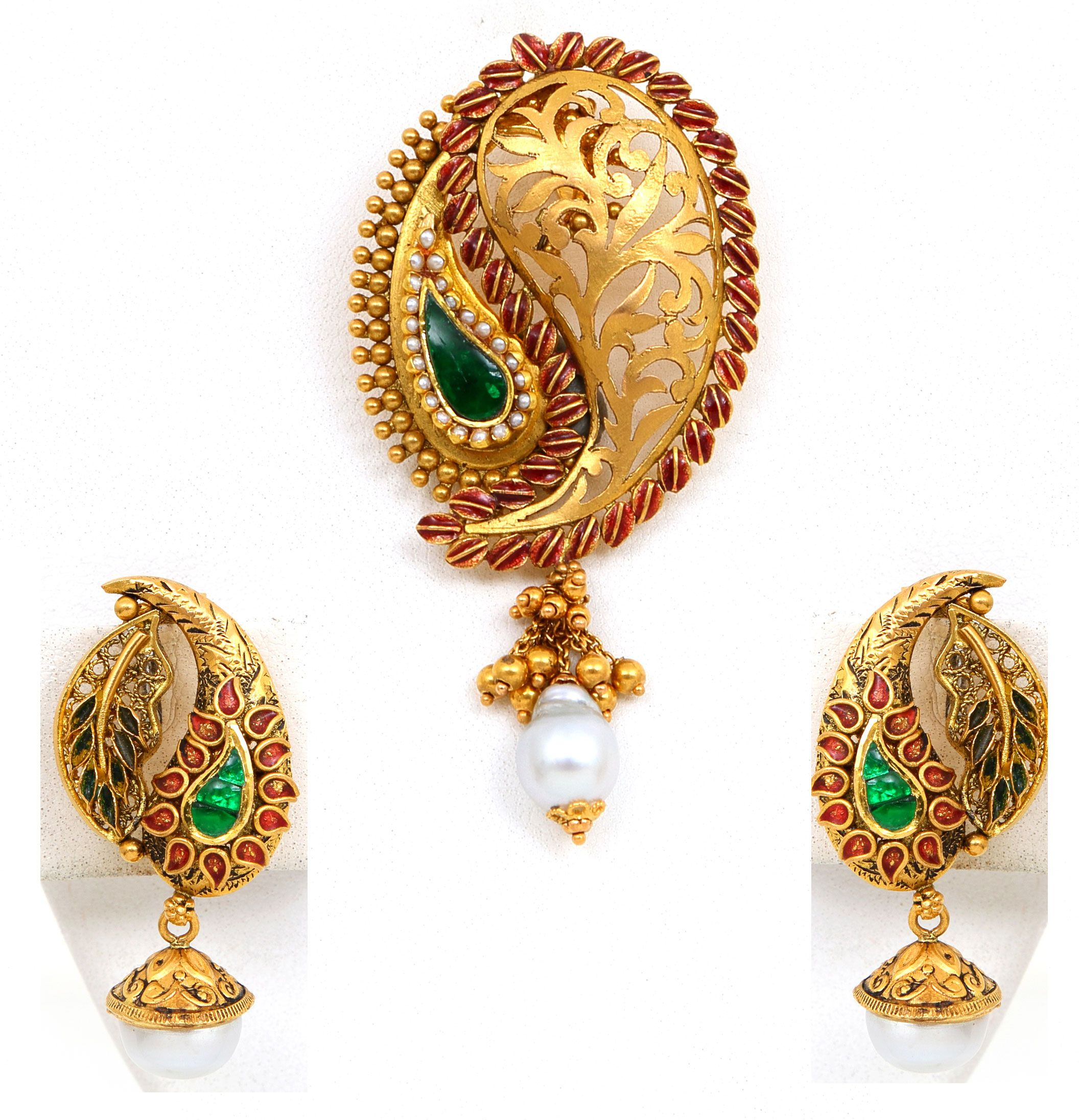 images of antique gold jewellery google search earings