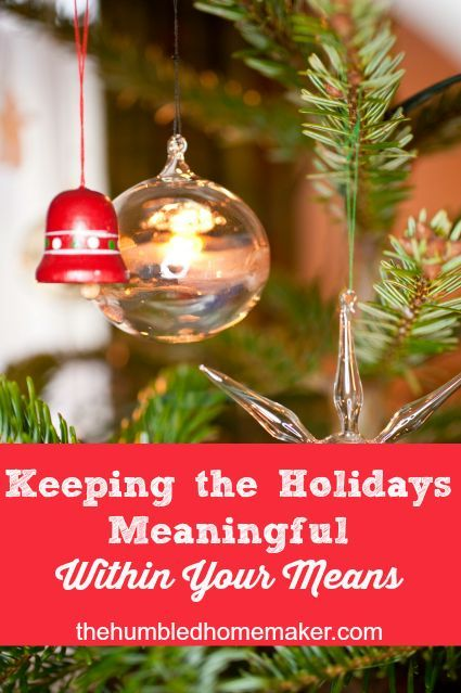 It's not too late to curb your holiday spending. You can have a very memorable Christmas without breaking your budget!! Love these money-saving tips!