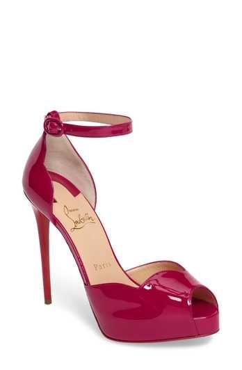 8e389daeab66 Christian Louboutin Aketata Ankle Strap Sandal (Women)