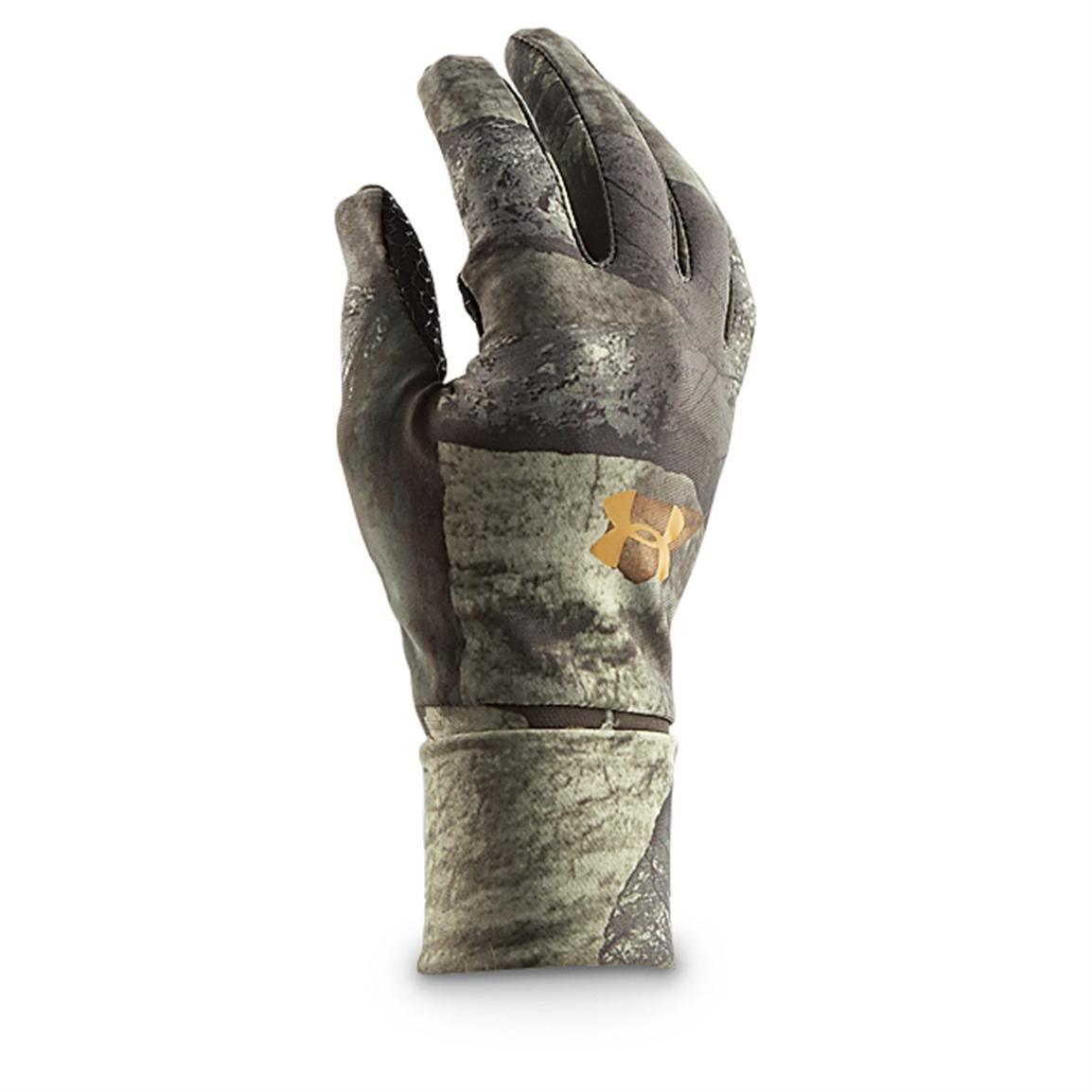a0caba704e Under Armour® ColdGear® Liner Gloves, Mossy Oak Treestand® | Hunting ...