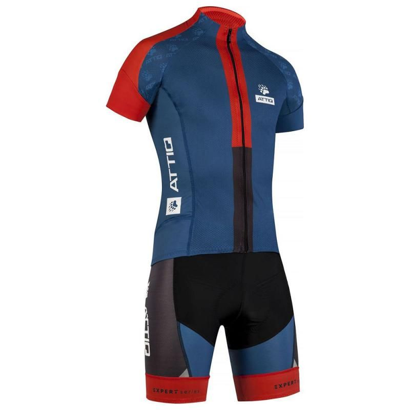 6200fe859 Attiq Mens Expert Series Cycling Set (Navy Red)