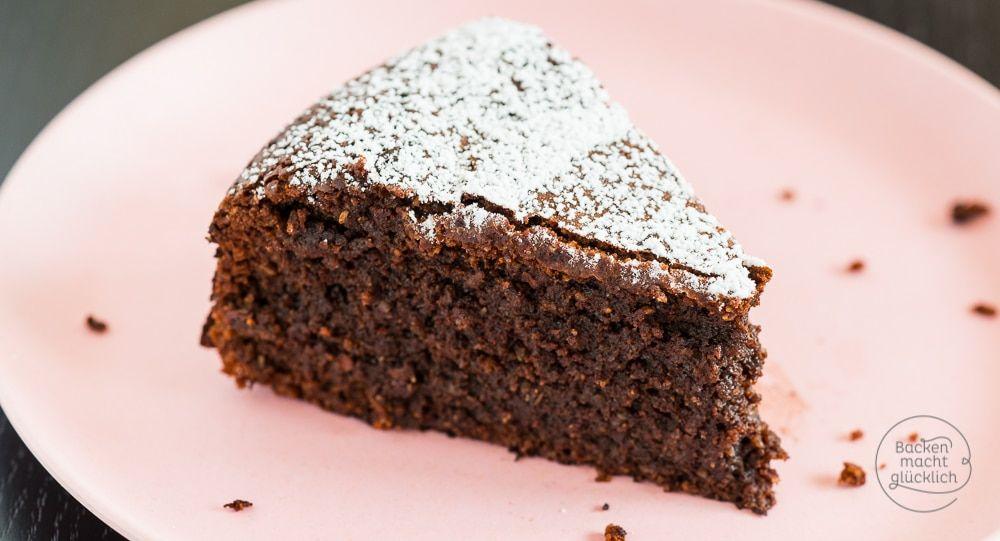 Schokoladenkuchen ohne Mehl  Rezept  Backen