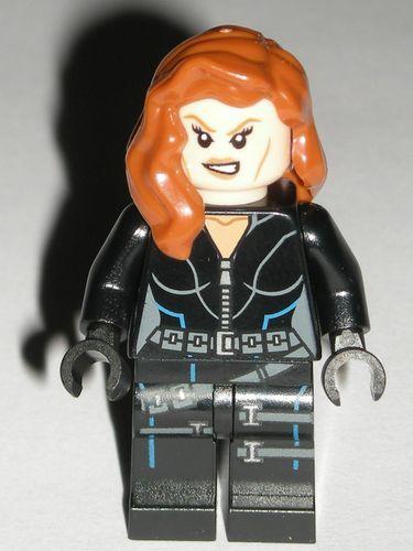 sh186 NEW LEGO BLACK WIDOW FROM SET 76042 AVENGERS