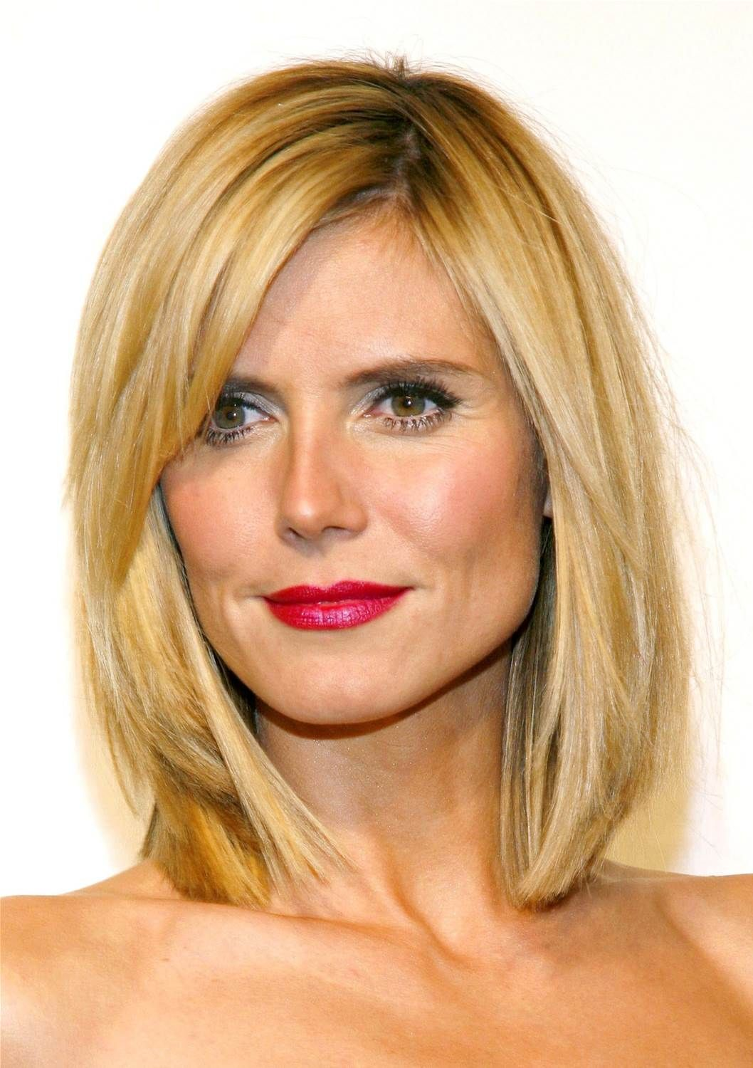 Image result for medium hair styles for women over square face