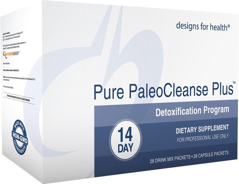 Designs For Health Pure Paleocleanse Plus 14 Day Detox Program Bone Broth Protein Green Tea Alkalizing Vegetables Detox Program 14 Day Detox 21 Day Detox