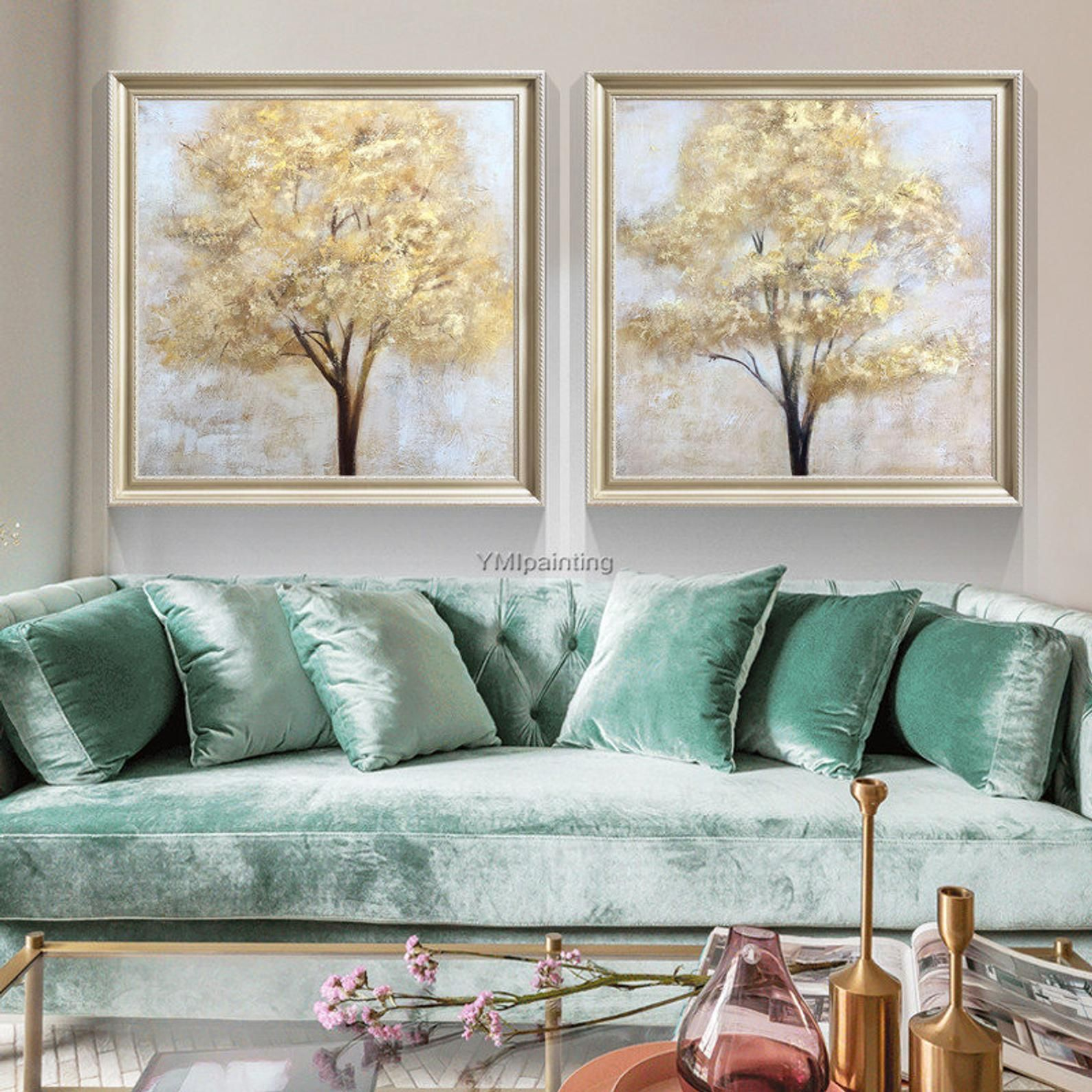 Gold Baum Des Lebens Acryl Gemalde Modern Auf Leinwand Grosse Original Textur Wand Kunst Bilder Fur Wohnzimmer Caudro En 2020 Lienzo Grande Pintura De Arbol Abstracto Fotos De Salon