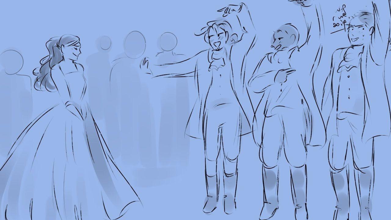 A Winter's Ball || Hamilton Animatic | Hamilton fanart, Hamilton comics,  Hamilton