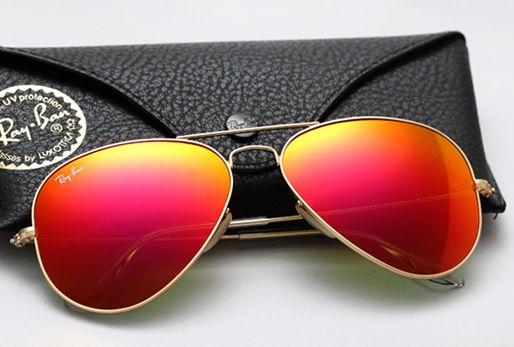 a6180ff292 Ray Ban Aviador espejado de color | sun glasses | Lentes de sol ...