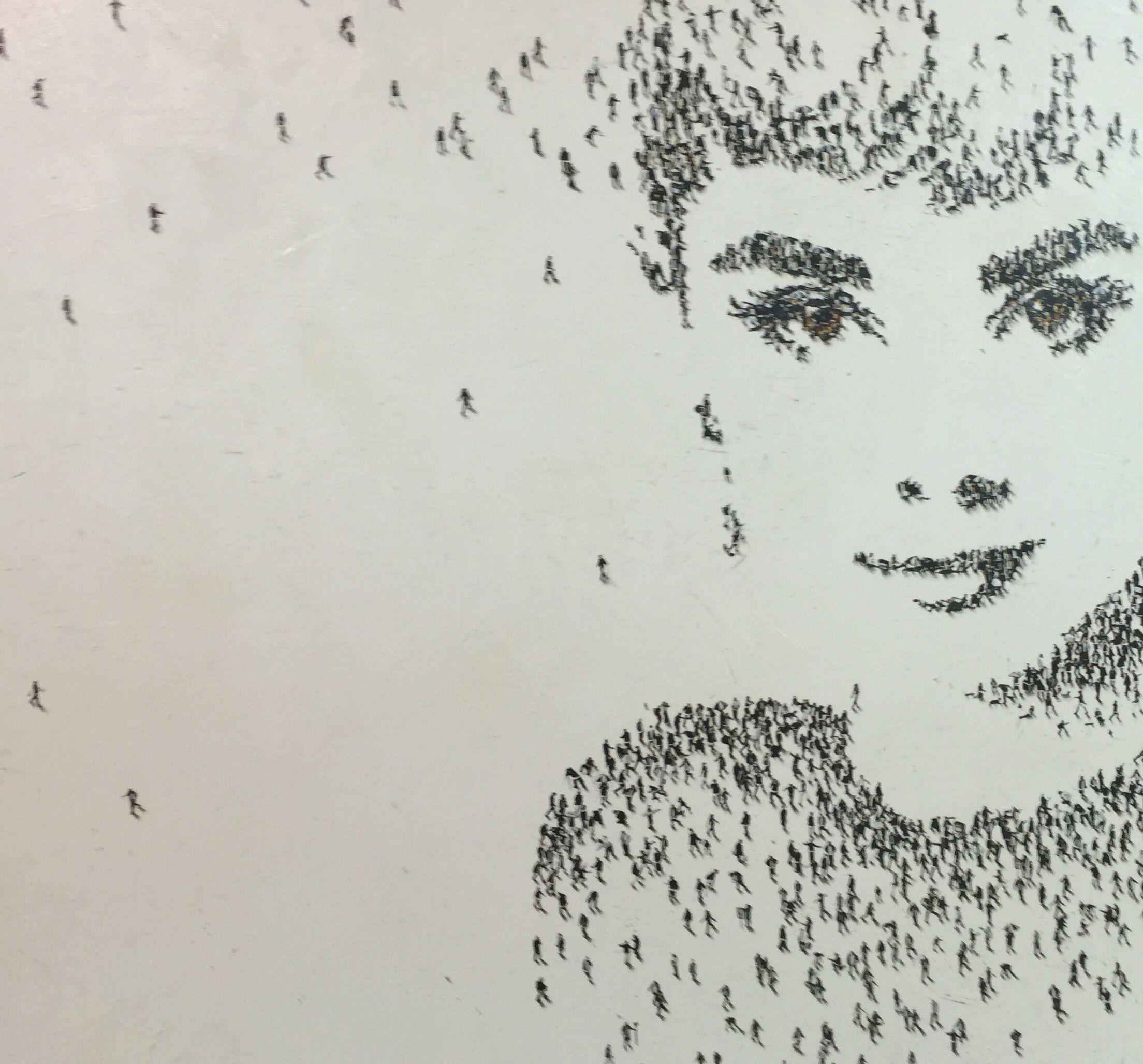 9fff76e13 Audrey Hepburn by Craig Alan | Pointillism in 2019 | Art, Sculpture ...