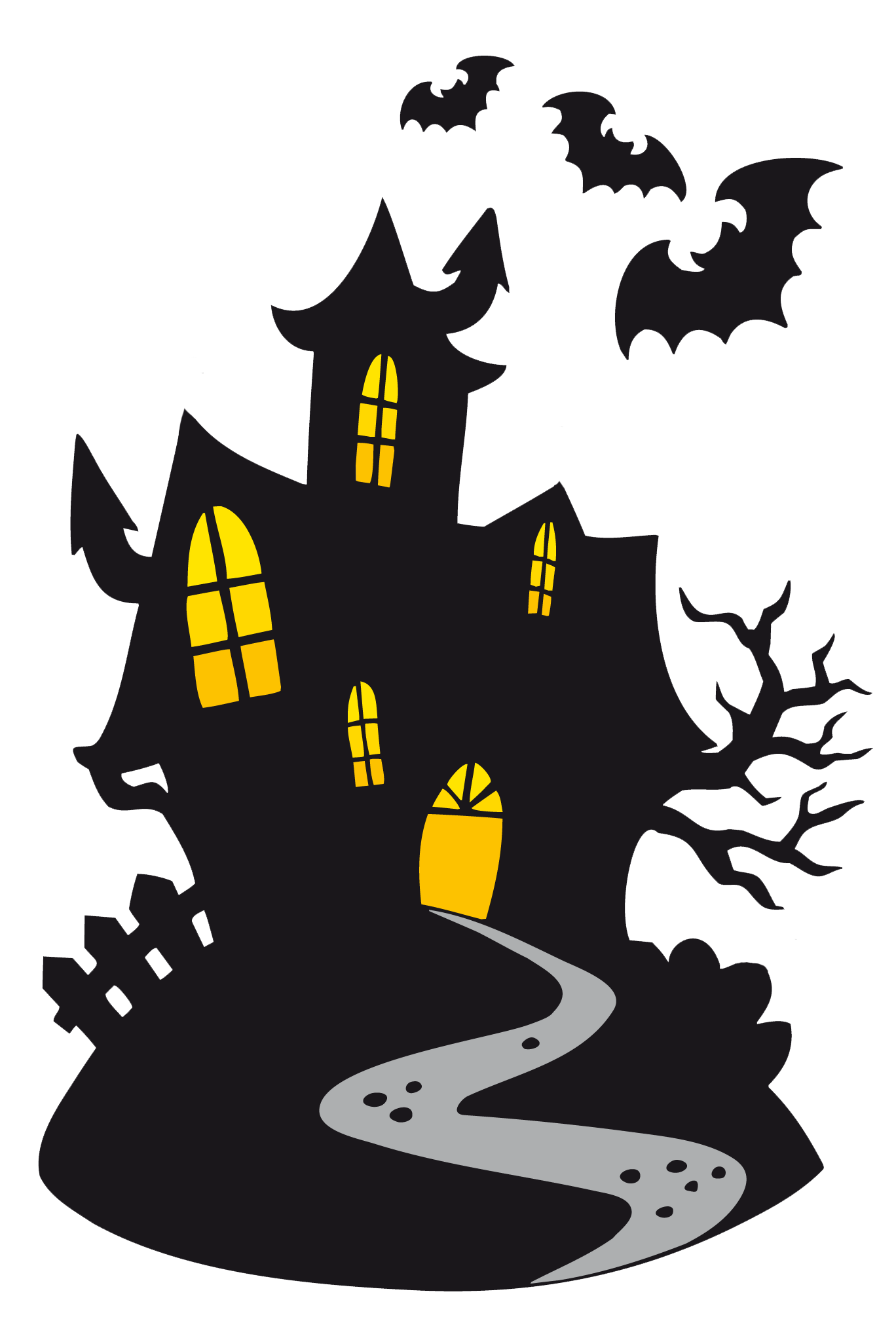 Haunted Castle Clipart | Gallery Yopriceville - High ...
