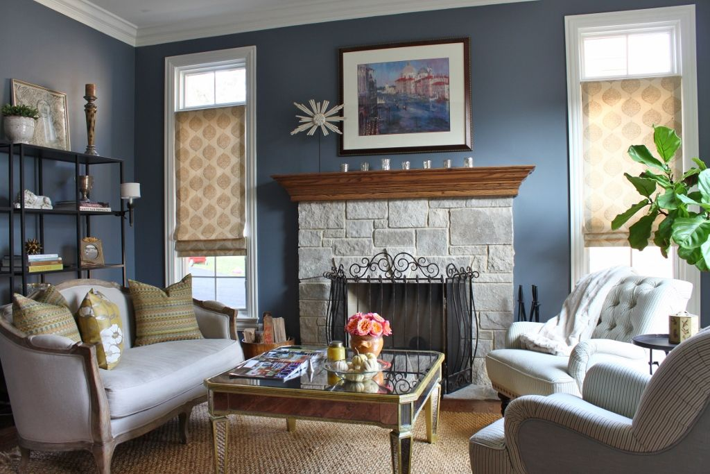 Best Benjamin Moore Wolf Gray Living Dining Room Dining Room 640 x 480