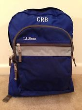Ll Bean Monogrammed Backpack