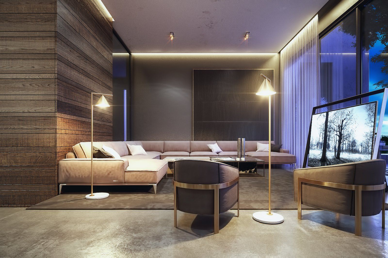 The Al Ali Home by Lines Design Creation and Consultancy | Living ...
