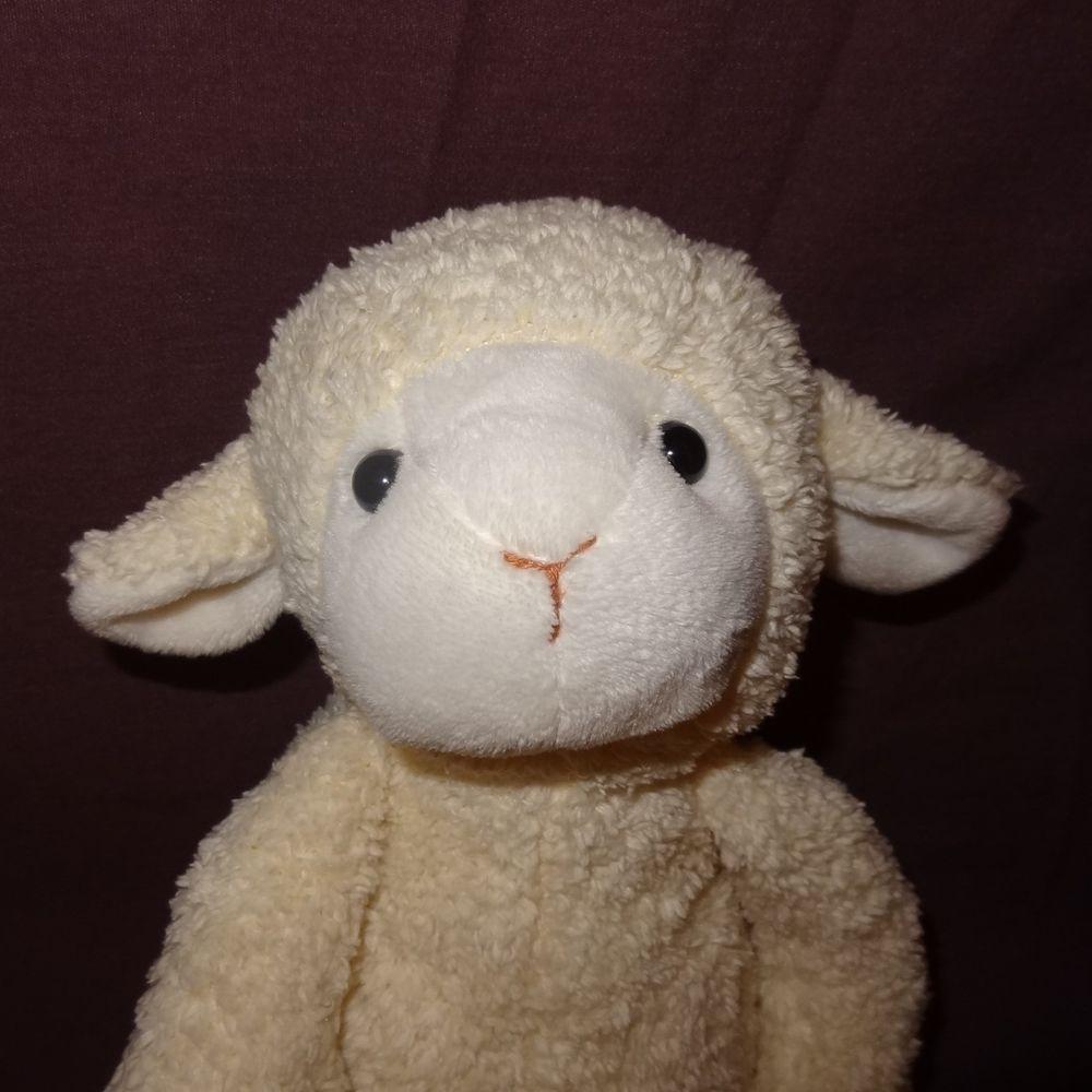 Lamb Sheep Easter Plush Stuffed Animal 9 Sitting Spring Cream Cs Int L Toys Ltd Scintltoysltd Easter Plush Toys Plush Stuffed Animals