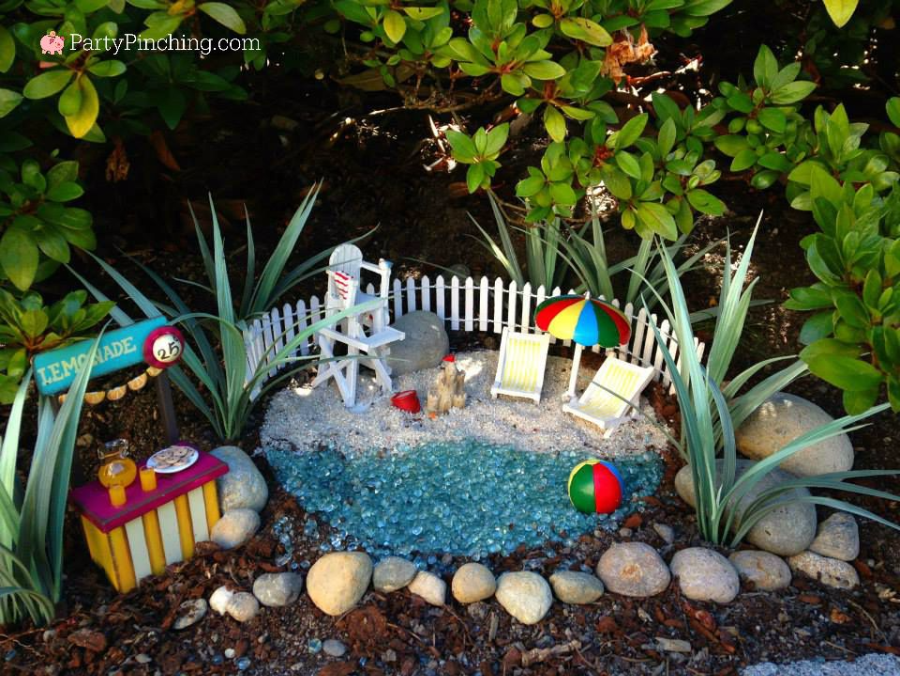 Lovely Fairy Garden Beach, Fairy Garden Ideas, Theme Fairy Garden