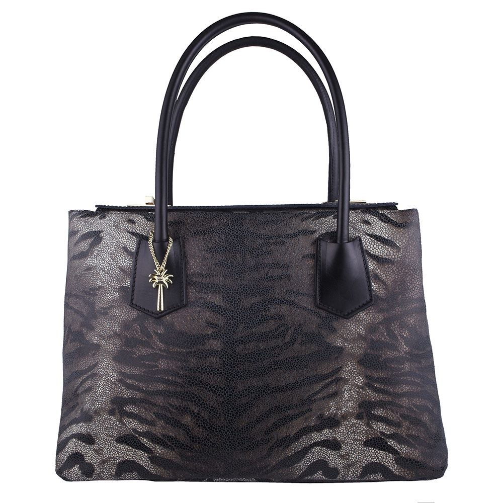 Alexander Zebra Print Italian Leather Handbag Online Now Free Shipping Within Australia Give Yourself A Treat